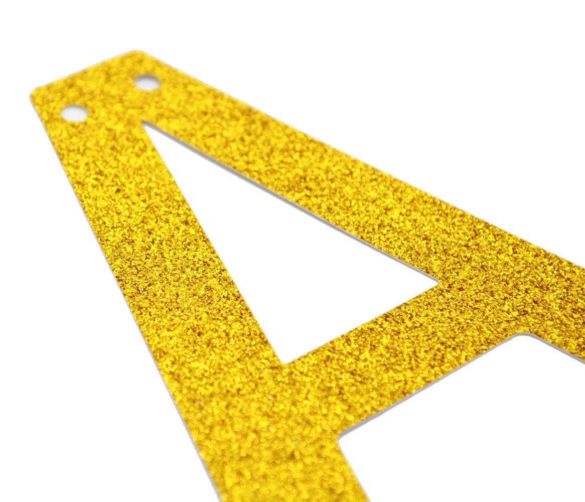 Graduation Sign Gold High School Graduation College Grad Decor Adventure Awaits Gold Glitter Banner Baby Shower Banner