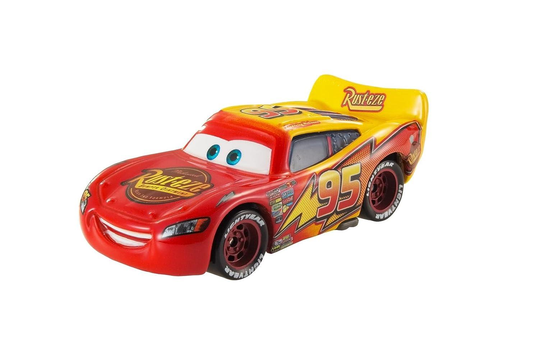 amazon com disney pixar cars color changer lightning mcqueen