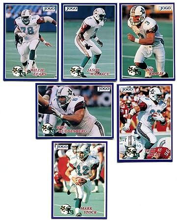 Amazon.com: 1995 Jogo CFL San Antonio Texans Lote de 20 ...