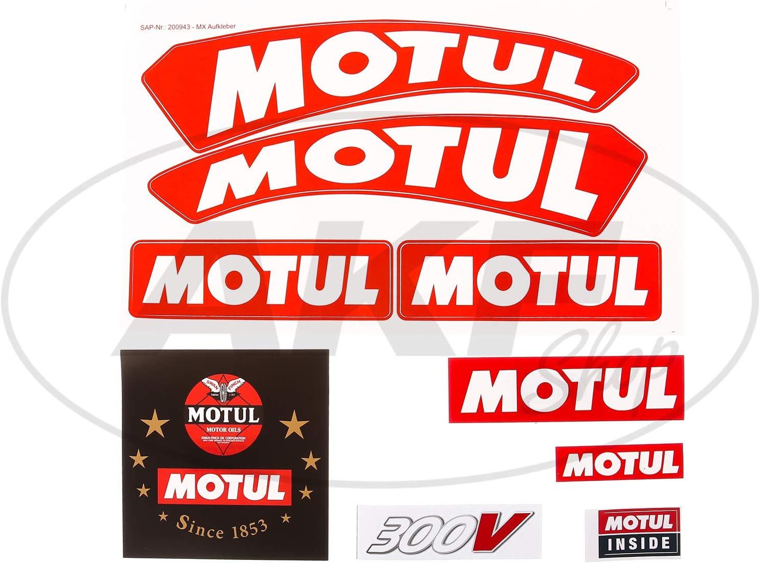 Motul Sticker Set Motul Auto