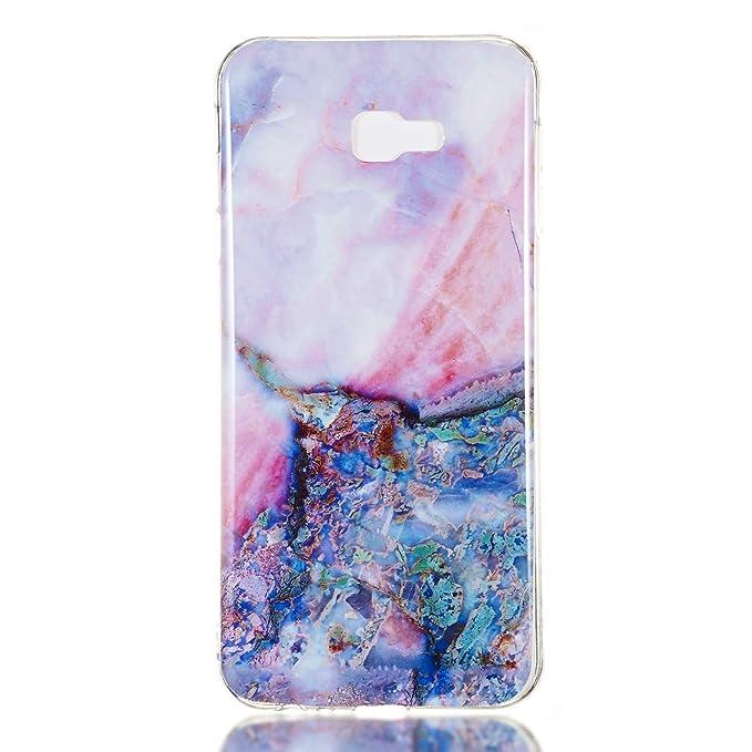Core Case Soft Silicone Case Shockproof Anti-Scratch Case Cover for Samsung Galaxy J4+ Lomogo Galaxy J4+ J4Plus - LOYHU260312 L2 J4 Plus