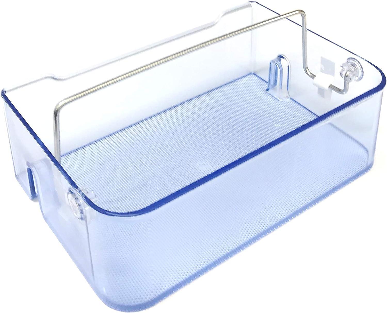 OEM Samsung Refrigerator Door Bin Basket Shelf Tray Shipped With RF28HDEDBSR, RF28HDEDBSR/AA, RF28HDEDPBC, RF28HDEDPBC/AA