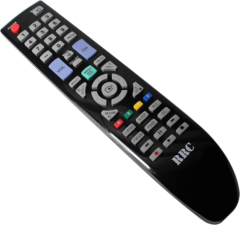 RRC BN59 – 00997 A Universal Mando a Distancia de Repuesto para Samsung Smart LED LCD Plasma TV- BN59 – 00850 A, BN59 – 00852 A, BN59 – 00854 A, BN59 – 01041 un, BN59 – 00673 A: Amazon.es: Electrónica
