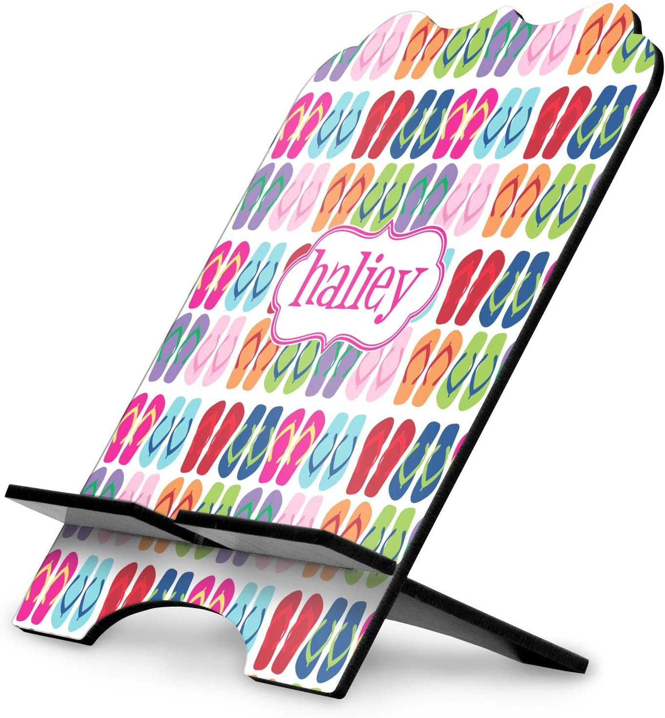Personalized YouCustomizeIt Flipflop Stylized Tablet Stand