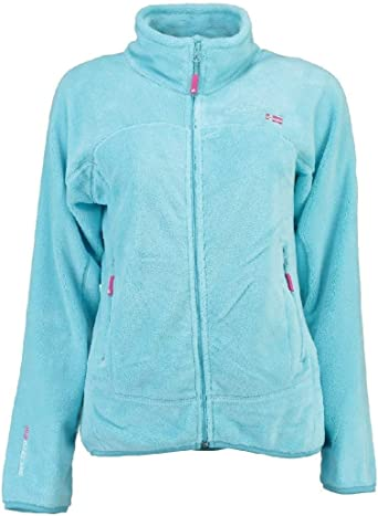 Geographical Norway Polaire Femme Unicorne Gris