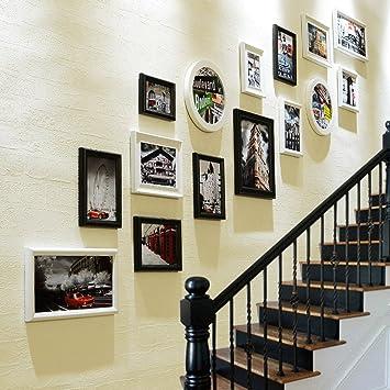 Photo Mur Escaliers Européens Décoration Appartement Couloir Couloir ...