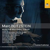 MUSIC FOR SOLO PIANO 1918-63