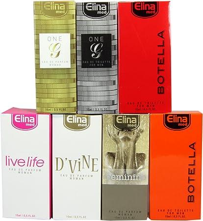Set de 7 (siete) Perfumes de Primera Calidad importados. 15 ml ref22.