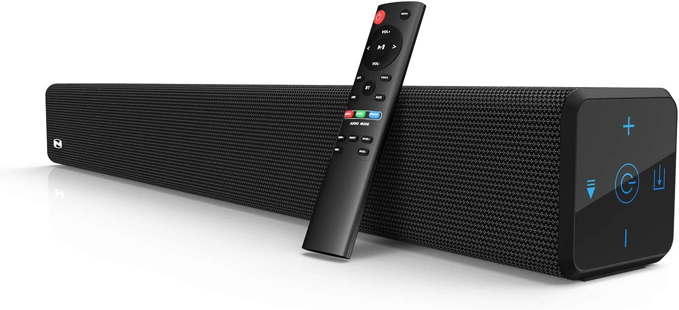Bestisan 2.1 ChannelSoundbar with Built in Subwoofer