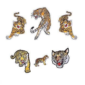 Amazon.com: NBEADS - Parches de tela bordados de tigre ...