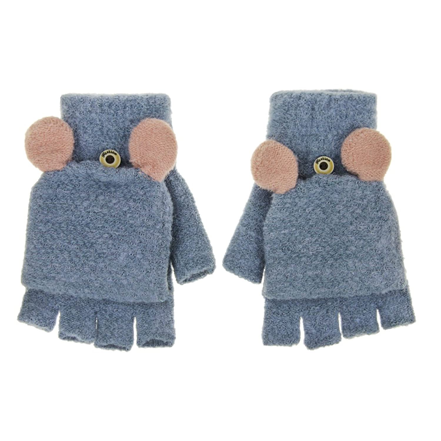 Amazon.com: Naimo Toddler Kids Children Cute Animal Mittens Gloves ...