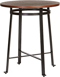 Ashley Furniture Signature Design   Challiman Dining Room Bar Table   Pub  Height   Round
