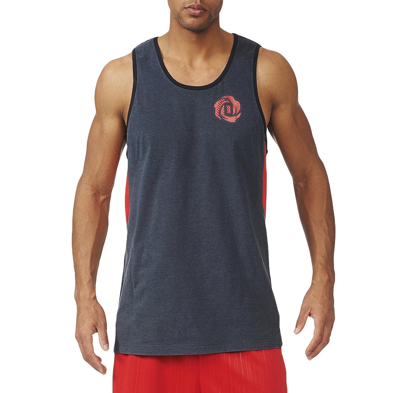 adidas Derrick Rose 773 Baloncesto Camiseta de Tirantes, Negro ...