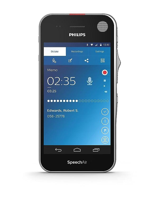 Philips PSP1100 SpeechAir Diktiergerät mit Schiebeschalter auf ...