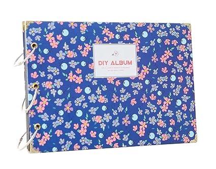 Flores-3] DIY Álbum de recuerdos DIY Libro de recuerdos Álbumes de ...