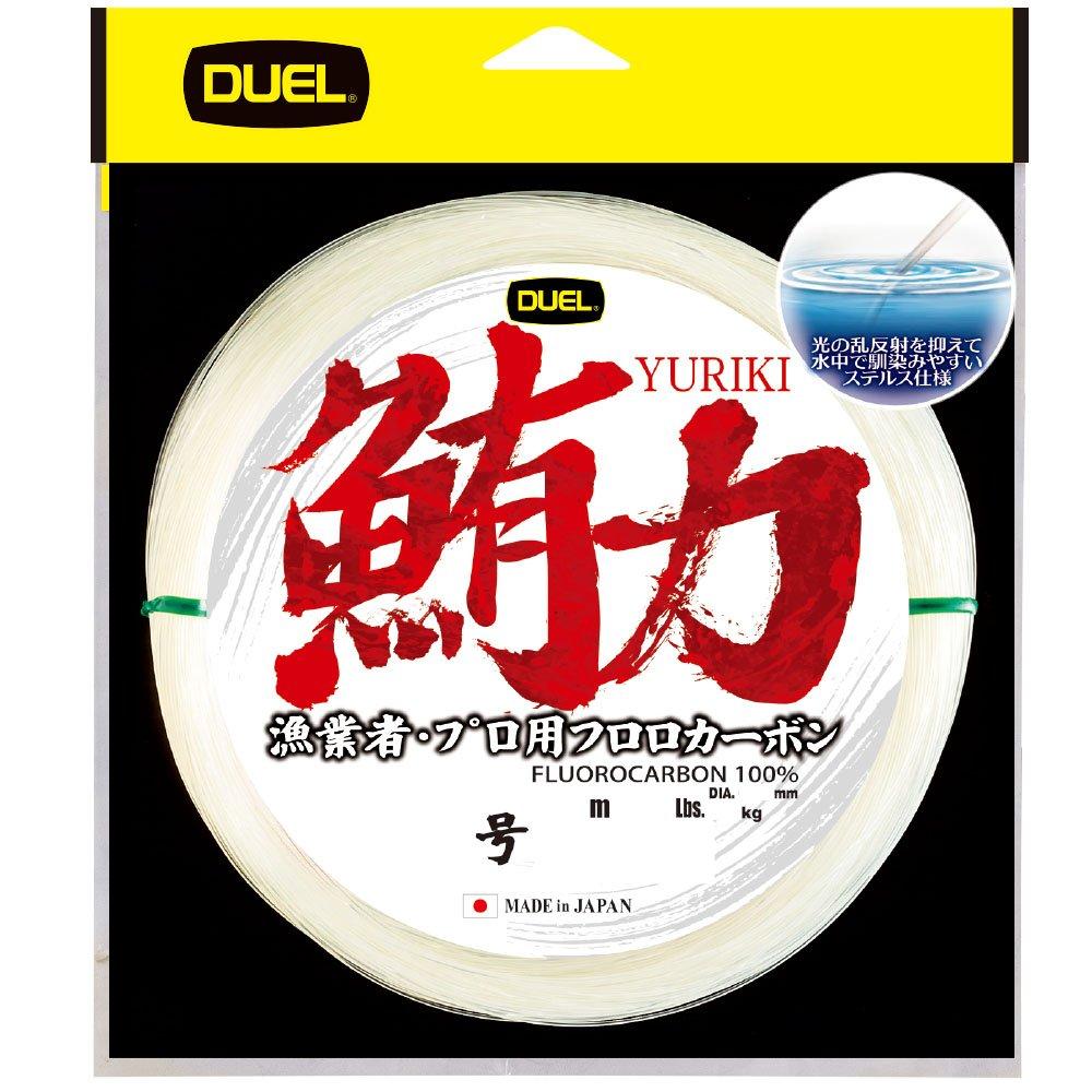NEW Duel Yuriki 100m 85lb #26 Clear 0.840mm Fluorocarbon Big Game Tuna Line JPN