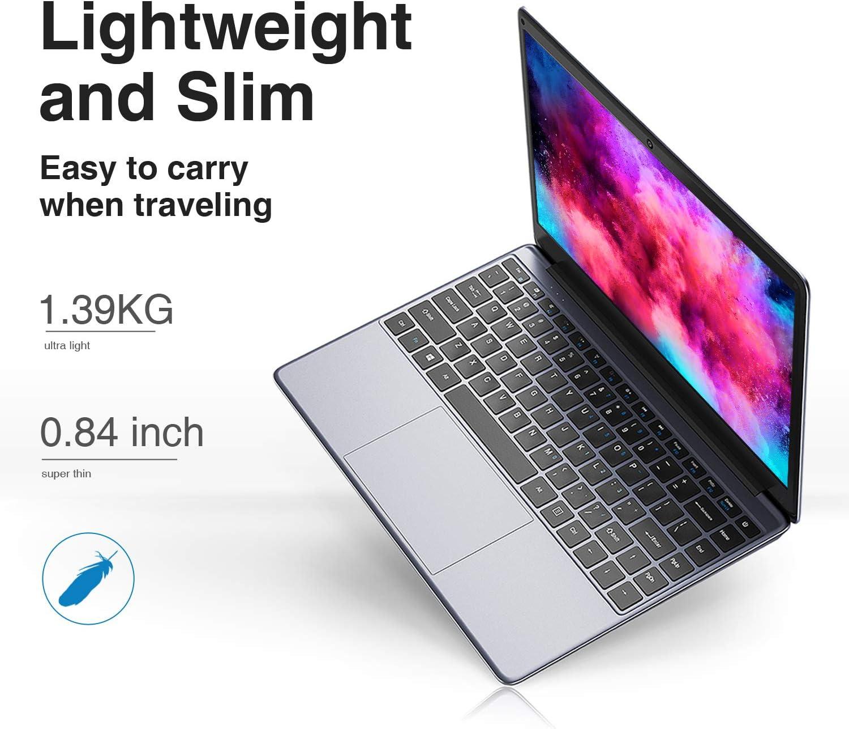 CHUWI HeroBook Laptop Computer Windows 10 PC 1TB M.2 SSD Slot 4GB RAM//64GB eMMC and Extra 256GB SSD 14.1 1080P Display Thin and Lightweight Intel Atom X5-E8000 Quad Core