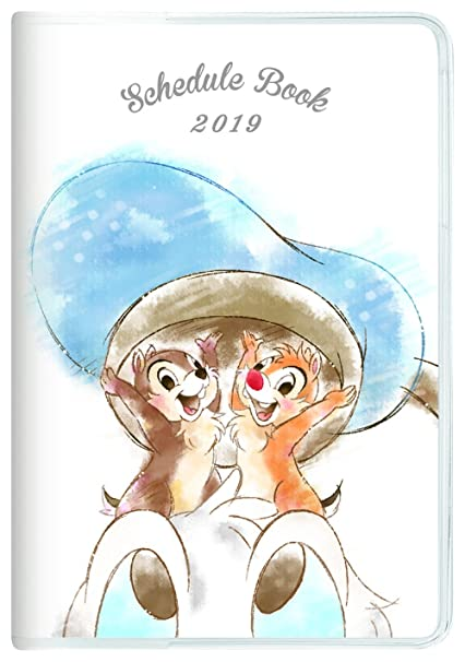Kamio Japan Disney Donald & chip & Dale Schedule Diary Planner 2019 B6 Monthly 09525 2018 October Start
