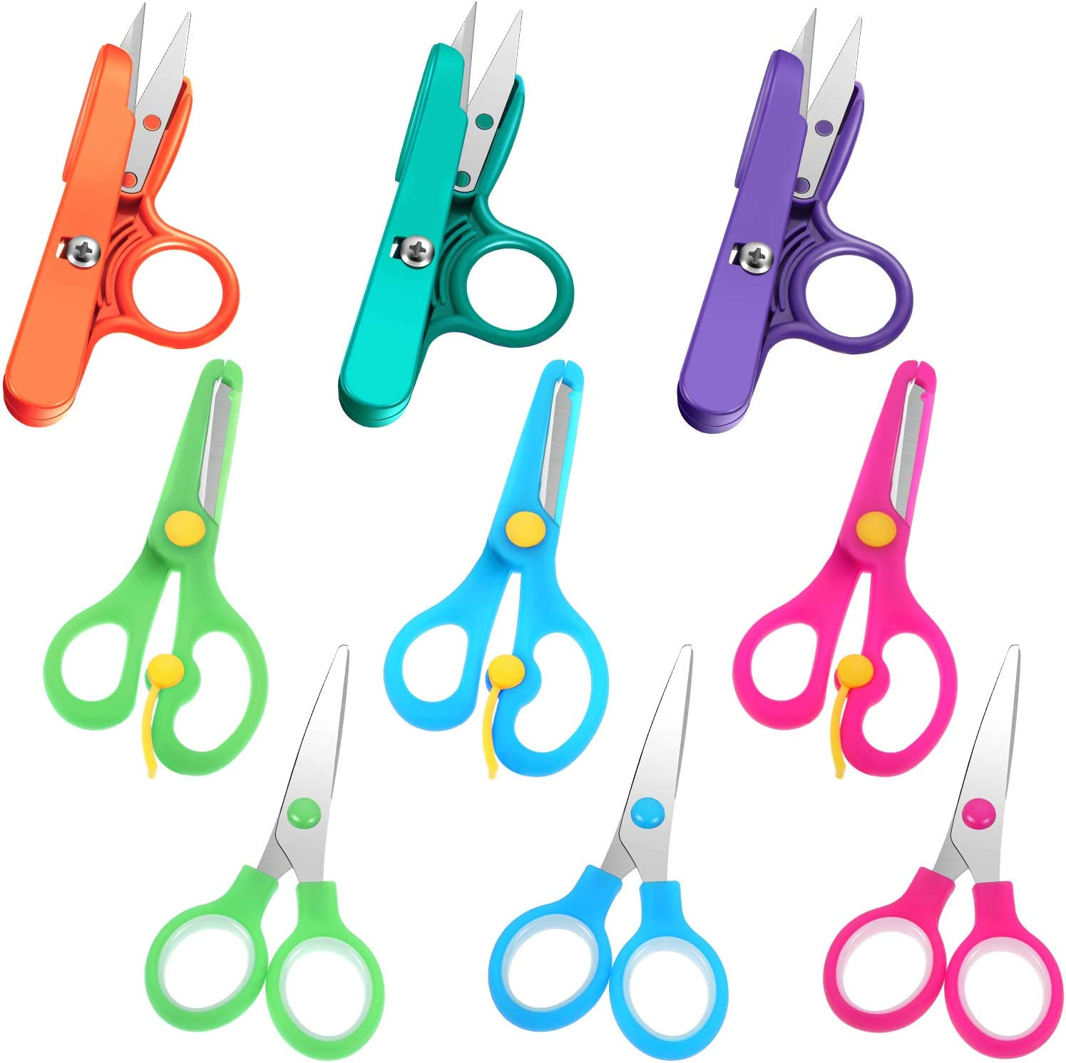 sewing shears Embroidery scissors quilting color craft supplies Fibre toolkit colorful accessory crochet knitting tool yarn scissors