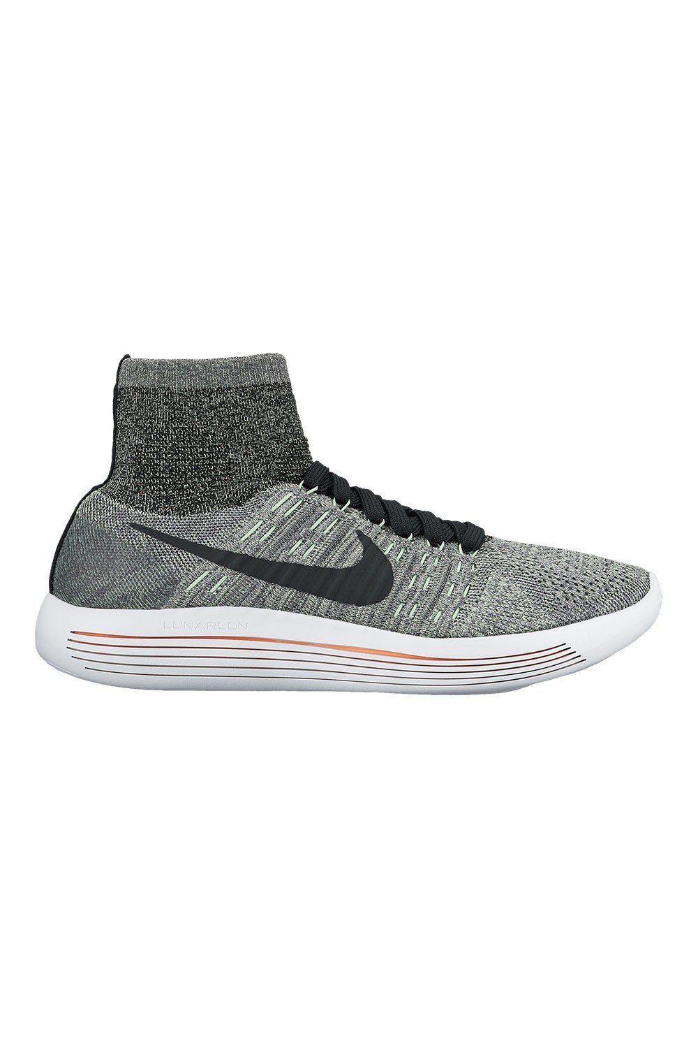 d7168fa04f27e Galleon - Nike Womens Lunarepic Flyknit 818677 013 Dark Grey Black-Cool Grey  (9.5)