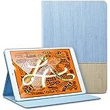 ESR iPad Mini 5 2019 ケース レザー 合皮 スマート カバー シンプル 軽量 スエード 柔らかな内側 キズ防止 二つ折り オートスリープ ウェイクアップ 機能 iPad Mini5(第五世代) 専用 (藤色)