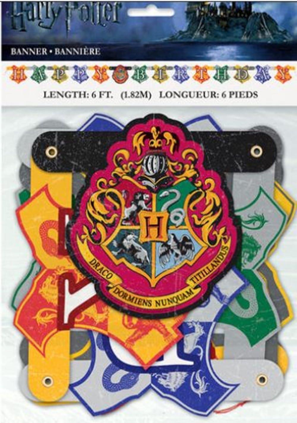 Amazon.com: Pancarta decorativa de fiesta de Mago de Harry ...