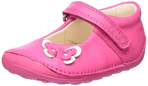 Clarks Girls  Little Mia Crawling Baby Shoes  Amazon.co.uk  Shoes   Bags 34451c2b09c1