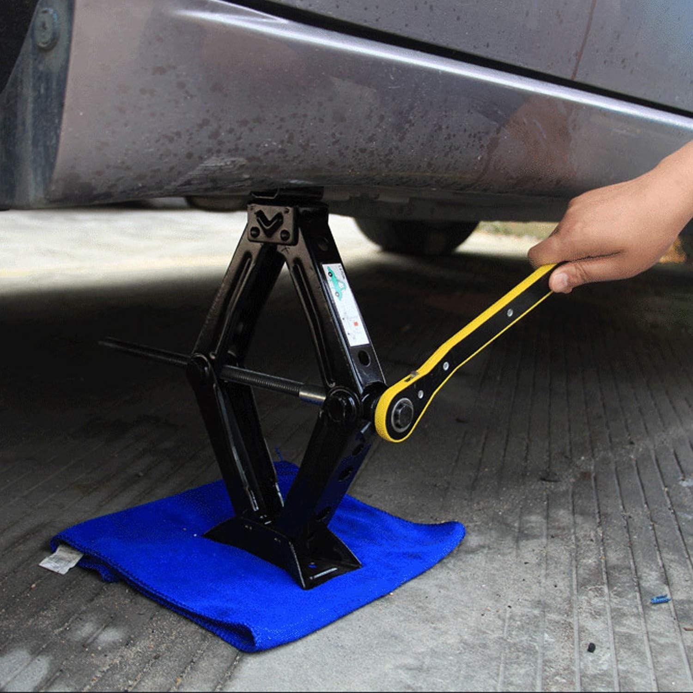 1.5T Forever Speed Scissor Jack Car Lift for Car//SUV//MPV//Family Car Pickup Truck Black