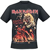 Iron Maiden Number of The Beast Graphic Camiseta Negro