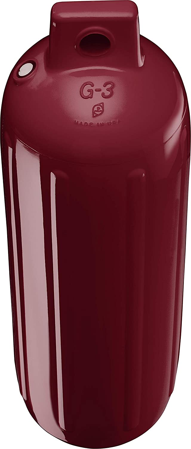 Polyform G-3 Boat Fender Burgundy Renewed