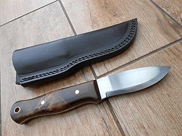 Sale! Artesanos Bushcraft cuchillo - 01 hoja de acero al carbono para herramientas! Walnut Lupia mango - de armas recortes archivo!