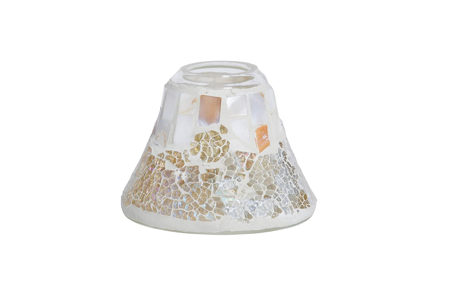 YANKEE CANDLE Lampenschirm 'Gold & Pearl Crackle' fŸr 104 g HGP300
