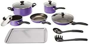 Farberware Dishwasher Safe Nonstick Farberware 15-Piece Cookware Set