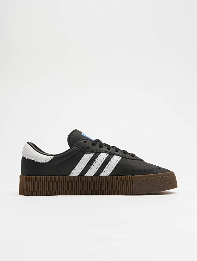 eso es todo tramo Manto  Amazon.com: Adidas Samba Rose Womens Sneakers Black: Shoes