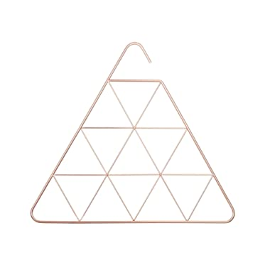 Umbra Pendant Triangular Copper Scarf Hanger/Accessory Hanger, Copper