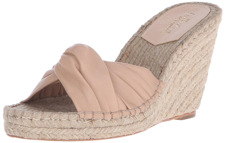 Loeffler Randall Women's Blanche-N Espadrille Wedge Sandal B01AHZZ44Y 7 B(M) US|Wheat
