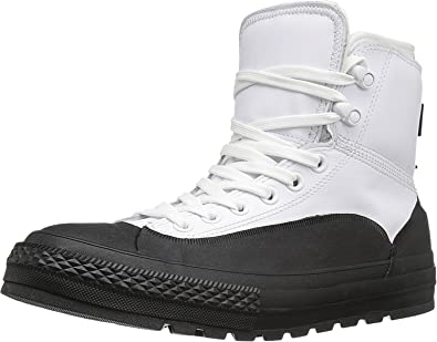d1995a04d06528 Converse Men s Chuck Taylor All Star Tekoa Waterproof White Black White Boot