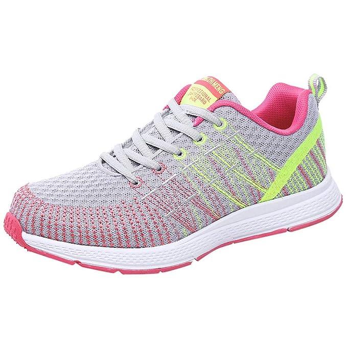 Zapatos Mujer,ZARLLE Zapatillas de Deporte con Cojines de Aire ...
