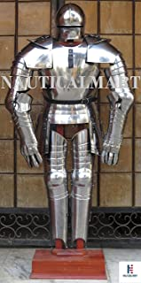 NauticalMart Gothic Full Suit Of Armour Medieval Times Warrior Fight SCA Larp