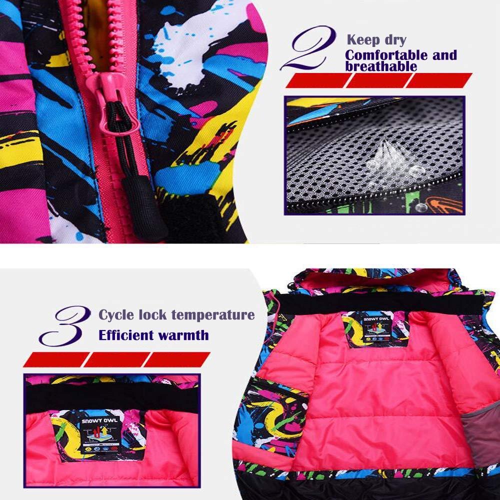 Z&X Skijacke - Wasserdichter Skianzug Schneeanzug Winter Skifahren Warm halten halten halten Damen Skijacke und -Hose für Snowboard, Bergsteigen - Mehrfarbig B07MC7TBJZ Bekleidung Rabatt ceca34