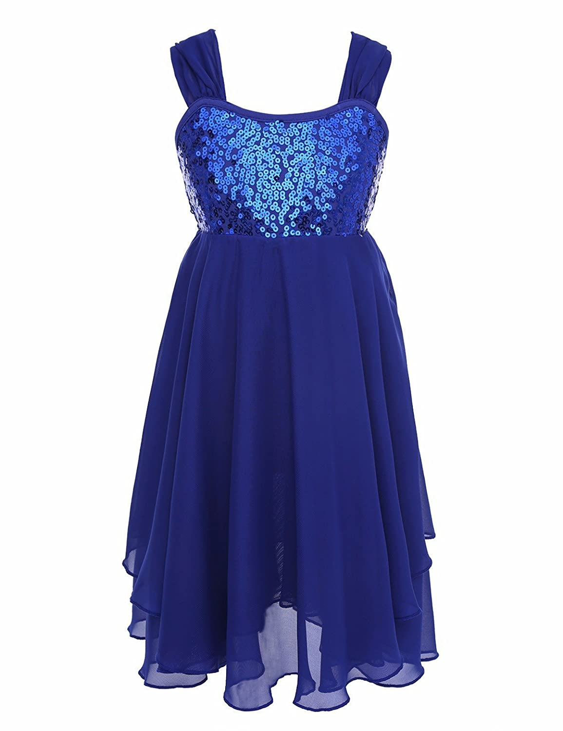 c56fc1b7024a Girls leotard dress, sweetheart and elegant style. Spaghetti straps inside  with adjustable buckles for adjustment. Adjustable ruched shoulder straps  can ...
