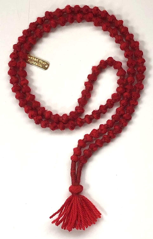 Black Tourmaline  Knotted Mala Beads Reiki Healing and Vastu Traditional Knotted 108 Meditation Mala Necklace Yoga Modern Jewelry Minimal