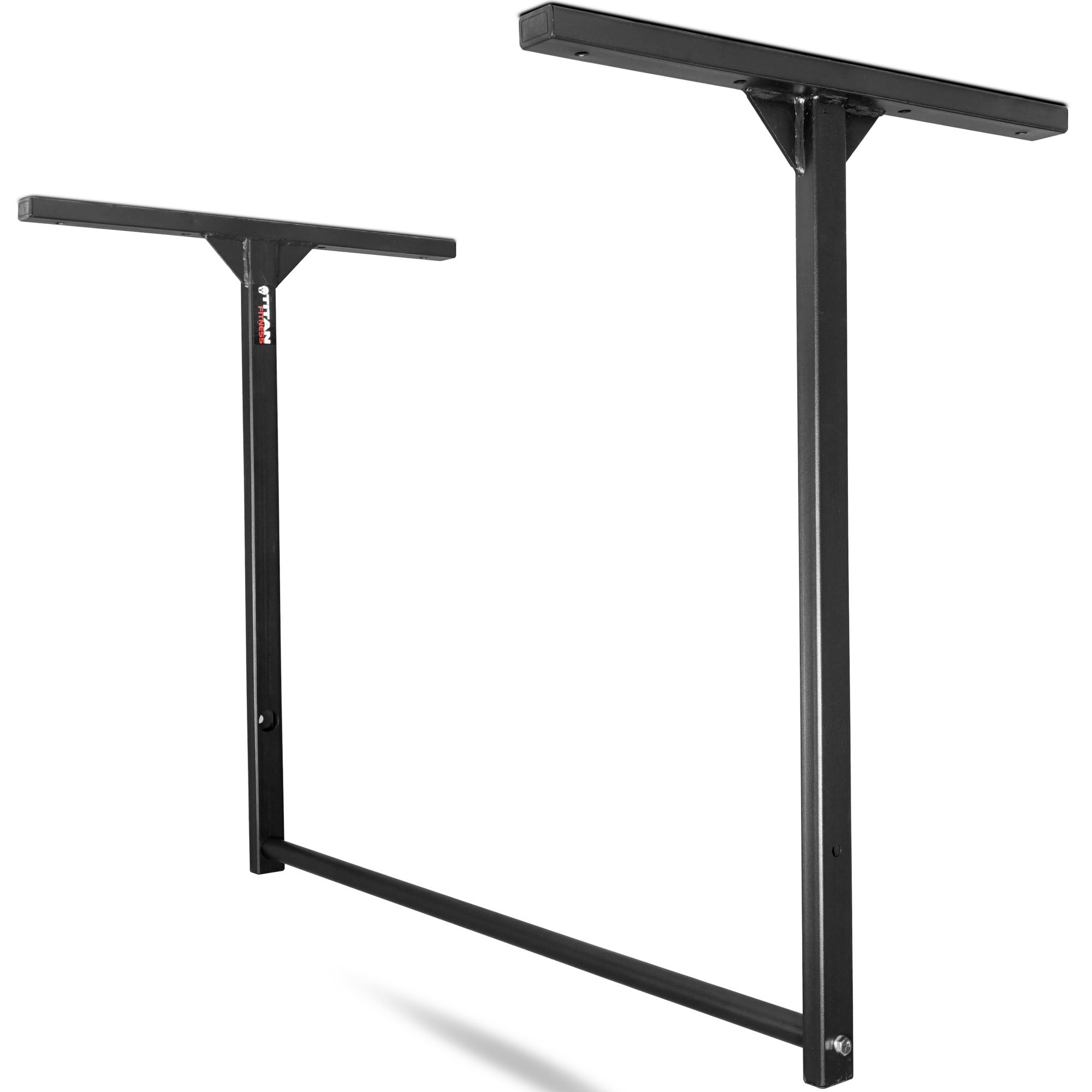 Titan Fitness Large Stud-Mounted Pull-Up Chin-Up Bars Wall or Ceiling Mount WOD