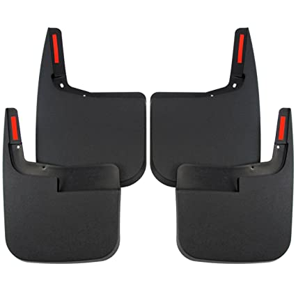 Red Hound Auto Premium Heavy Duty Molded   Ford F  Mud Flaps