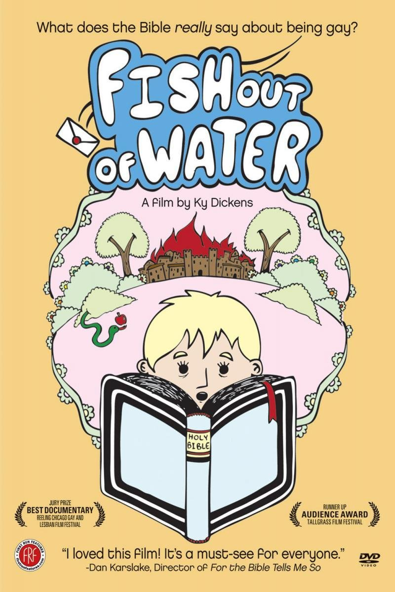 amazon com fish out of water ky dickens rev marilyn meeker