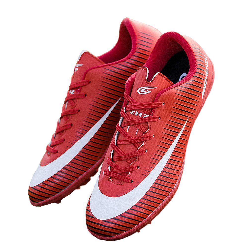 T&B Youth Artificial-Turf TF Soccer Shoes Indoor Football Training(Little Kid/Big Kid)