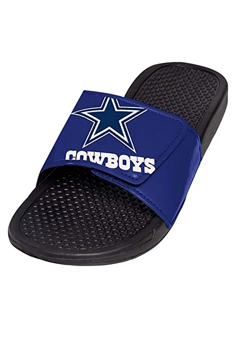 3350bb85480 Amazon.com   FOCO NFL Unisex - Big Logo Slide Flip Flops Sandals ...