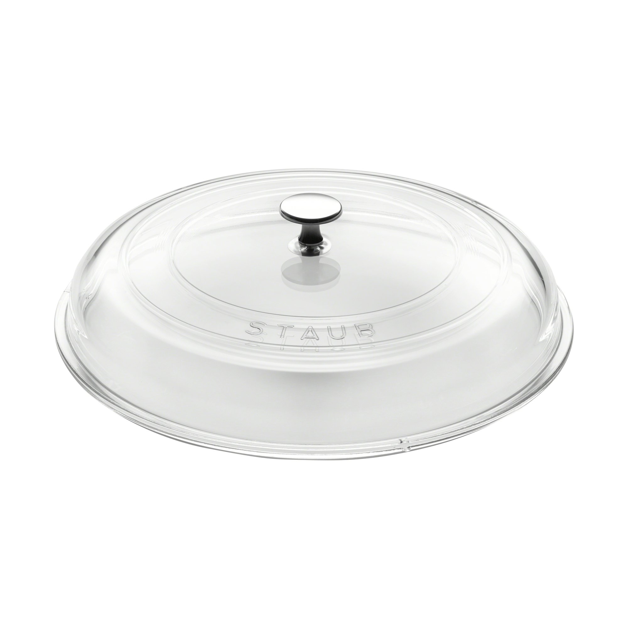 Staub 40501-030 Glass Domed Lid, 12'', Clear