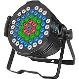 BIG DIPPER DJ Par luces LED iluminación de escenario 54 x 3 W 180 W RGB DMX Wash luz ascendente DMX para boda, iglesia, fiest