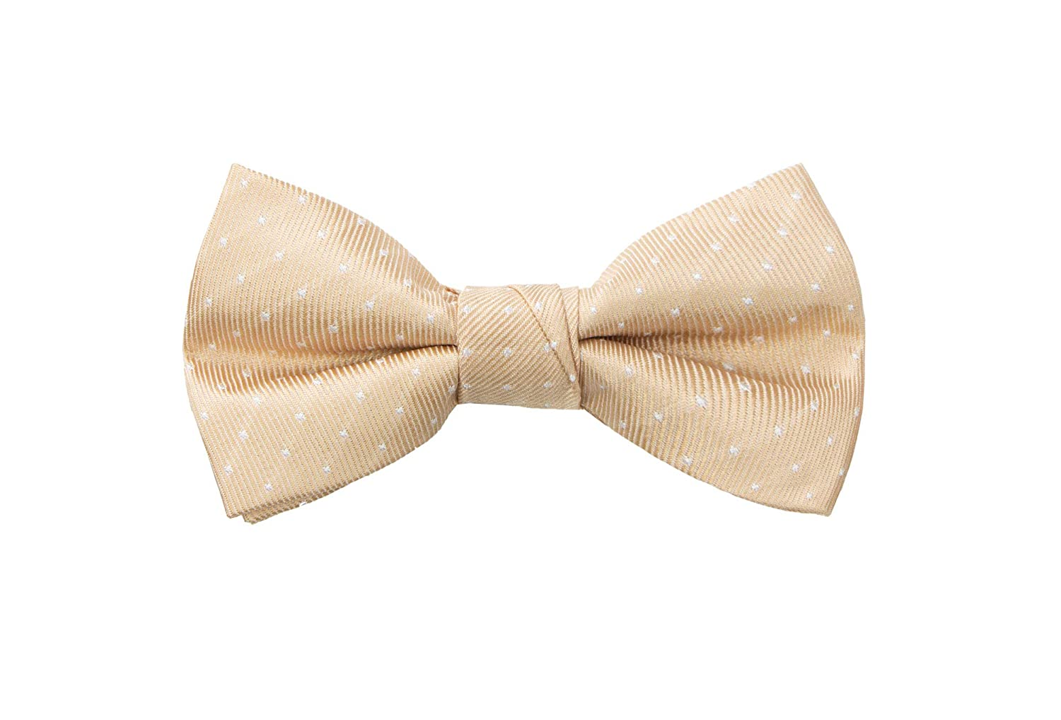 6fae5568c7a4 Amazon.com: Spring Notion Boy's Dotted Woven Bow Tie: Clothing